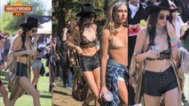 Kendall Jenner Flashes NIPPLES | Coachella Music Festival 2016 | Hollywood Asia