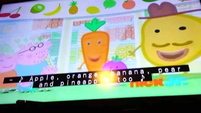 Peppa pig fruits (full and light)