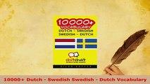 PDF  10000 Dutch  Swedish Swedish  Dutch Vocabulary Read Online