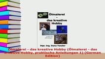 Download  Ölmalerei  das kreative Hobby Ölmalerei  das kreative Hobby praktische Anleitungen 1 PDF Full Ebook