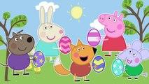 Peppa Pig Easter Eggs 4 Finger Family \ Nursery Rhymes Lyrics