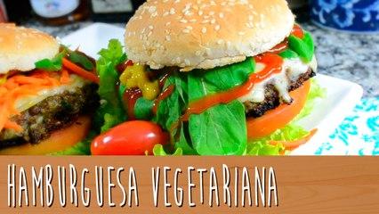 Hamburguesa vegetariana   Comamos Casero