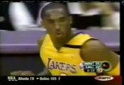 Kobe Bryant dunks on Yao Ming