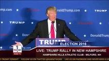 """Donald Trump chante le titre de Rap """"Donald Trump"""" de Mac Miller"""