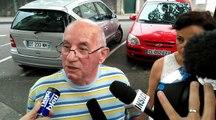 Claude Ducos à la sortie des assises au quatrième jour du procès Alexandre Junca