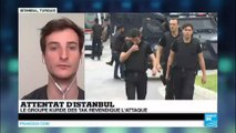Turquie : le groupe terroriste kurde TAK revendique l'attentat d'Istanbul