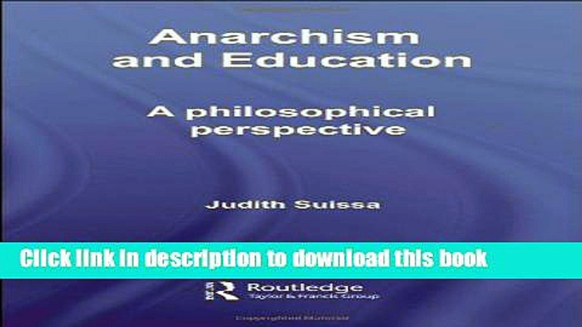 1. Varieties of Anarchism