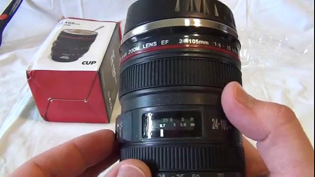 1:1 Camera Lens Style EF 24-105mm Lens Coffee Mug HLI-156430