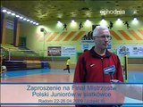 Zaproszenie na Finał Mistrzostw Polski Juniorów w siatkówce Radom 22 26 04 2009 (część II)