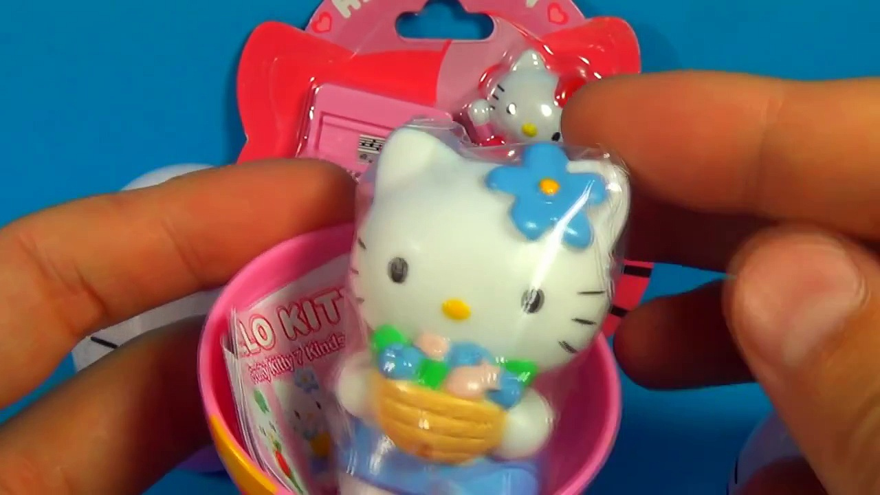 HELLO KITTY surprise eggs Hello Kitty Play Set HELLO KITTY HELLO KITTY HELLO KITTY!