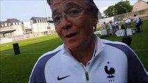 E. Loisel - 'c'est un bonheur de vivre ça et de voir l'engouement autour du foot féminin'
