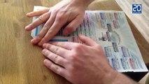 Tuto: Transformez votre journal 20 Minutes en avion aux couleurs des Bleus