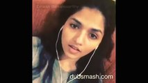 Actress sunaina tamil dubsmash rajinkanth dialogue - whatsapp funny videos 2016 @whatsapp #whatsapp