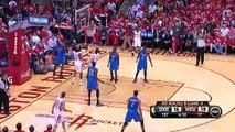 NBA CIRCLE - Oklahoma City Thunder Vs Houston Rockets Game 4 Highlights 29 April 2013 NBA Playoffs