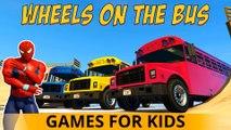 Cartoon COULEURS CARS et TRUCKS avec Spiderman Comptines Enfants et Chansons enfantines