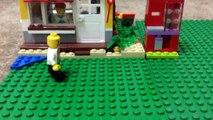 LEGO vending machine toy animation