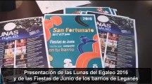 Presentación de las actividades culturales y las fiestas de junio de Leganés