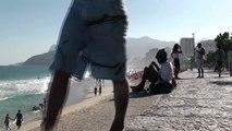 """21/07/2010 13:51: Ipanema beach, Rio De Janeiro, Brasil  22°59'16.82""""S 43°11'41.56""""W"""