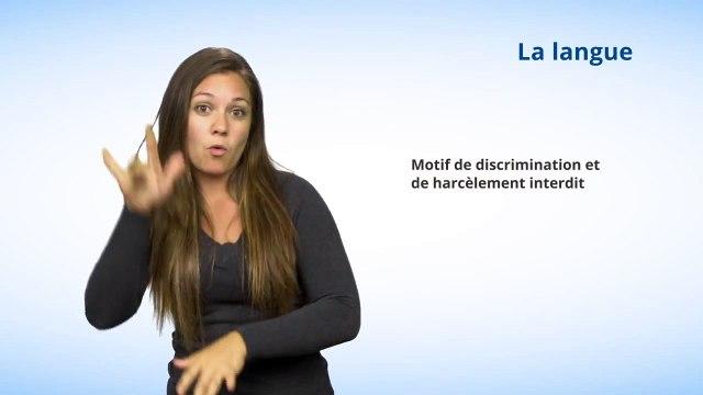 Motif #7 - La langue