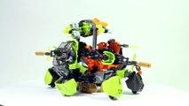 Lego Hero Factory 44023 + 44025 + 44027 - Lego Speed Build