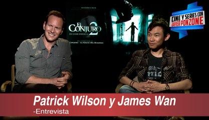 """A solas con Patrick Wilson y James Wan de """"El Conjuro 2"""", por Javier Ponzone"""