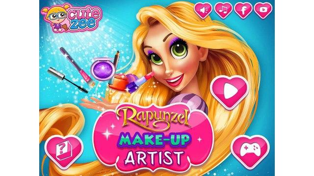 Rapunzel Make up Artist NEW Rapunzel Video For Girls