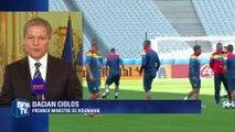 """Premier ministre roumain: """"On partage des valeurs européennes y compris sur le terrain du foot"""""""