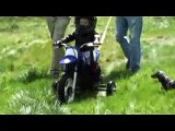Youngest Dirtbike Motorcycle Stunt Rider 22 months old 1 year old