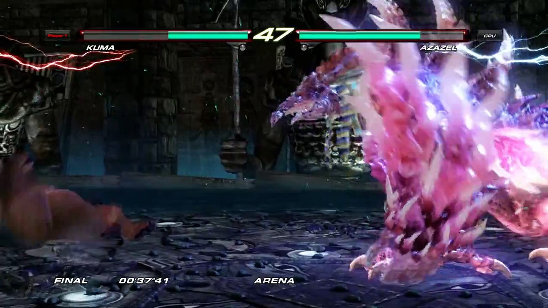 Tekken 6 Easy Way To Beat Azazael And A Bunch Of Endings Video Dailymotion