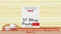 6 Ways To Write More Interesting Blog Posts - video dailymotion