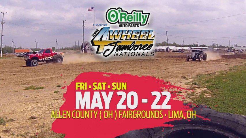 O'Reilly Auto Parts 4-Wheel Jamboree Nationals Comes To Lima, OH