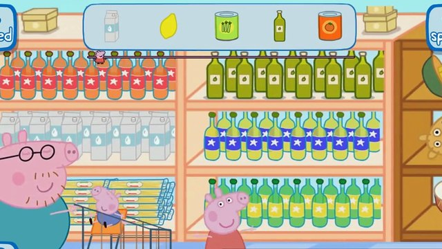 Peppa Pig App Game| Best Kids App Games| Peppa Pig Supermarket
