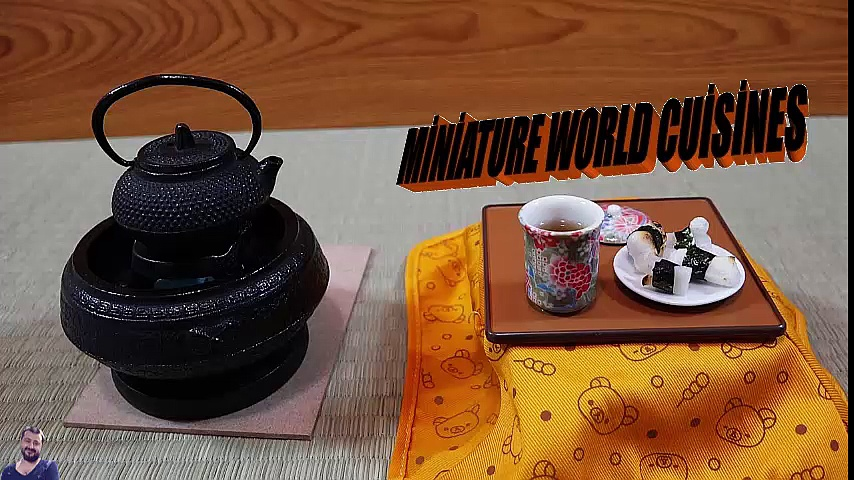 Mini Karides Kızartma Mini Food Shrimp tempura and fried shrimp ミニチュア料理 エビフライとエビ天 미니어처 요리