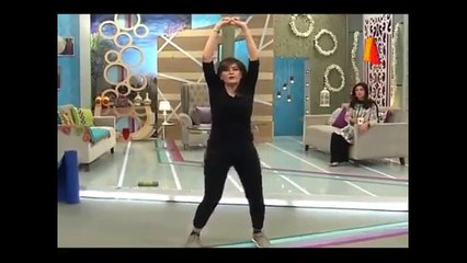 Best Exersize & Yoga on A TV Morning Show, Ever