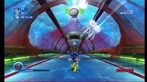 Sonic Colours Super Sonic in Aquarium Park Zone (HD)