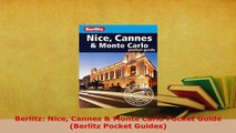 PDF  Berlitz Nice Cannes  Monte Carlo Pocket Guide Berlitz Pocket Guides Download Full Ebook
