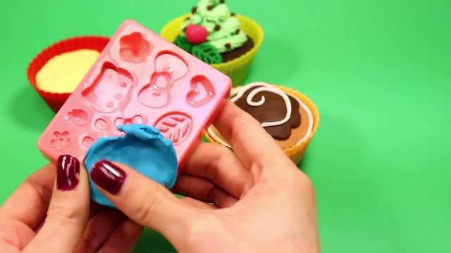 Play Doh Cupcakes Playdough Sweet Confections Cupcakes Muffins Ice Creams Part 6