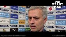 Leicester City 2 1 Chelsea Jose Mourinho Post Match Interview I Feel Like My Work Was Betr