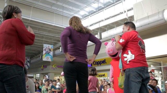 Peppa Pig en Galerias del Valle