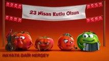 Tatlı domatesler 23 Nisan Çocuk Bayramı Reklamı uzun versiyon