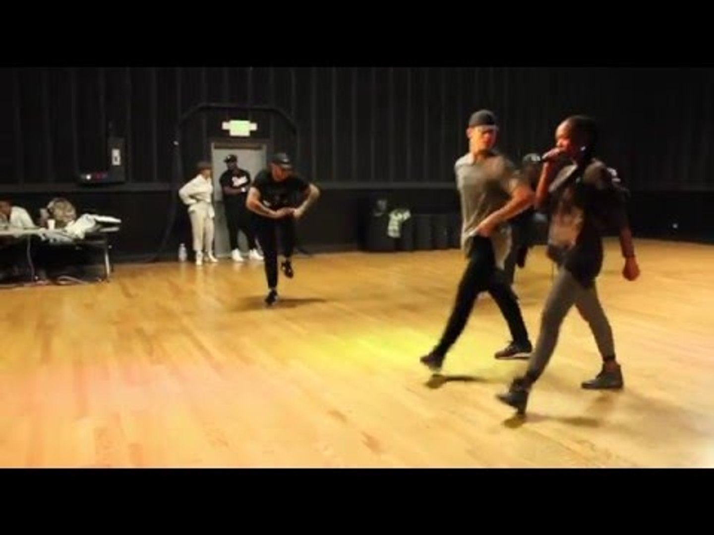 Brandy Soul Train Awards 2015 (Dance Rehearsal)