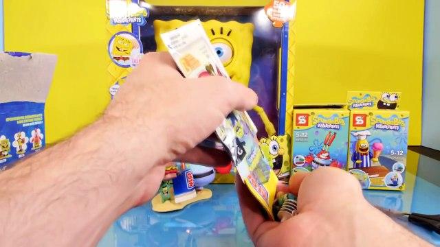 Sheriff SPONGEBOB & PATRICK STAR Playdoh Stop Motion Video --- Spongebob Squarepants Episo