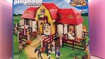 Ecurie Playmobil Country français – Unboxing et commentaires – Présentation de la gigantes