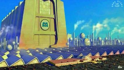 قصة فيلم كرتون شركة المرعبين المحدوده Monster's Inc مدبلج عربي HD كامل -  video dailymotion