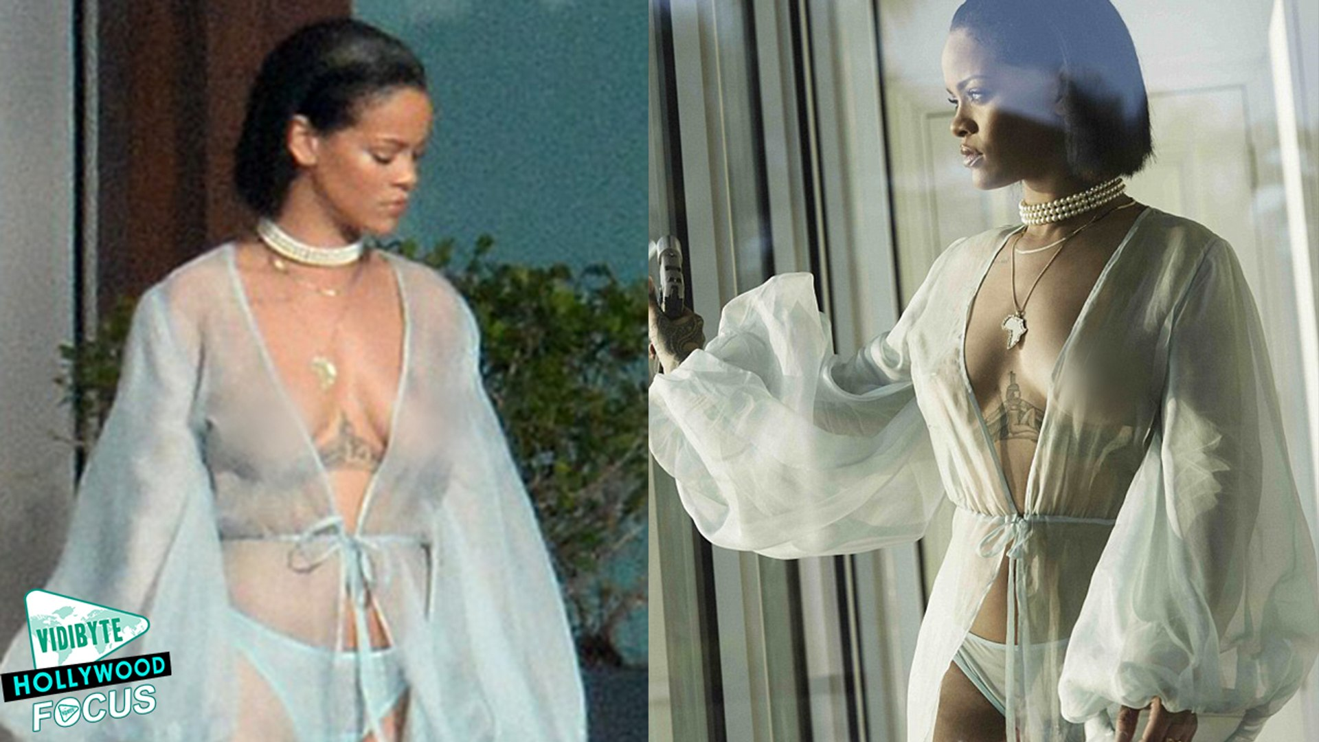 Rihanna Strips Down in Needed Me Music Video
