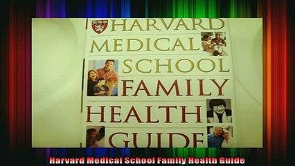 READ FREE FULL EBOOK DOWNLOAD  Harvard Medical School Family Health Guide Full Ebook Online Free