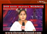 Jeetu Moni Wins Dance India Dance Little Masters