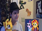 Stormlight Reacts to: Equestria Girls Rainbow Rocks Fan Animation and Sunset Shimmers Wants Cake