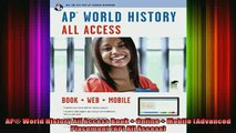 READ book  AP World History All Access Book  Online  Mobile Advanced Placement AP All Access Full Free