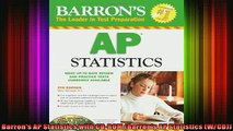 READ book  Barrons AP Statistics with CDROM Barrons AP Statistics WCD Full Free